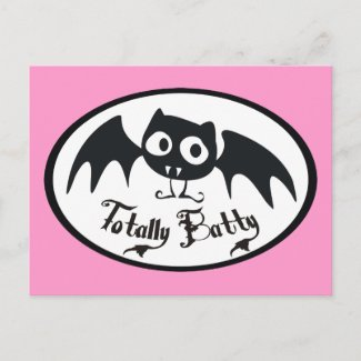 Totally Batty postcard