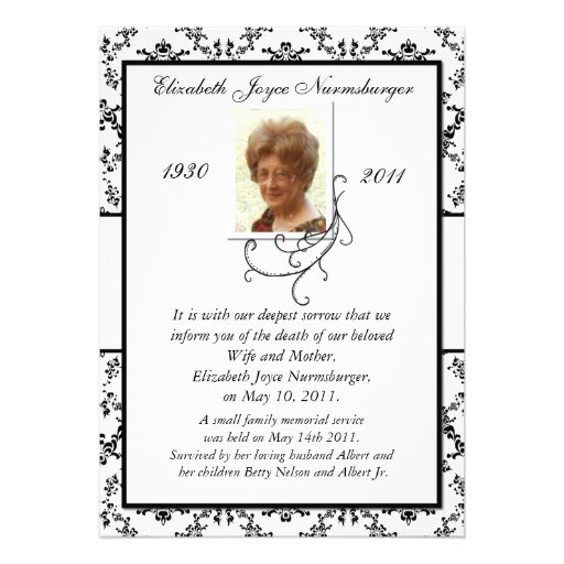 Obituary Templates. free obituary templates. obituary form funeral ...