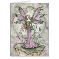 Tranquil Moon Fairy Greeting Card