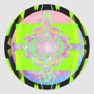 Transmitting Atomicity CricketDiane Designs zazzle_sticker