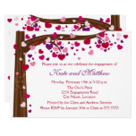 Tree of Hearts Engagement Party Invitation