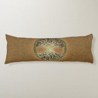 Tree of Life Body Pillow