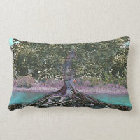 Tree of Life Lakes Edge Lumbar Pillow