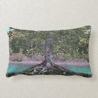 Tree of Life Lakes Edge Lumbar Pillow
