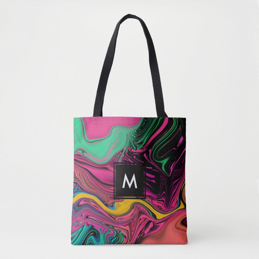 Trendy Cool Colourful Tote Bag