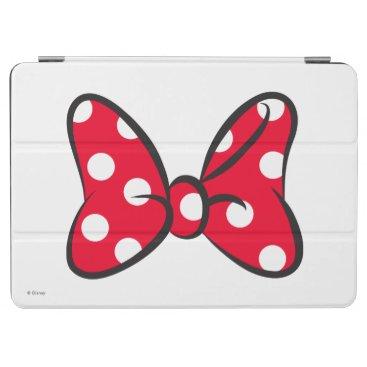 Trendy Minnie | Red Polka Dot Bow iPad Air Cover