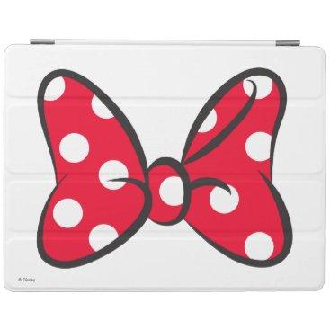 Trendy Minnie | Red Polka Dot Bow iPad Smart Cover