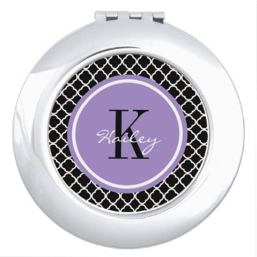 Trendy Pattern Personalized Compact Mirror