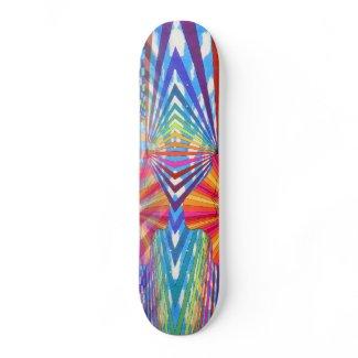 Triangular Momentum Skateboard by CricketDiane skateboard
