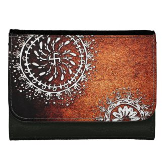 Tribal Art Mandala Wallet