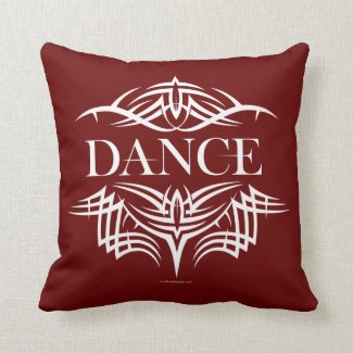 Tribal Dance (plain) Pillow