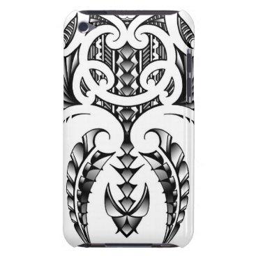 Tribal tattoo design in Maori & Samoan style iPod Case-Mate Case