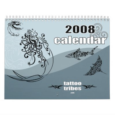 Tribal tattoos 2008 calendar by TattooTribes