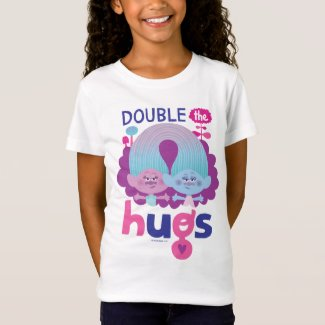 Trolls | Satin & Chenille - Double the Hugs T-Shirt