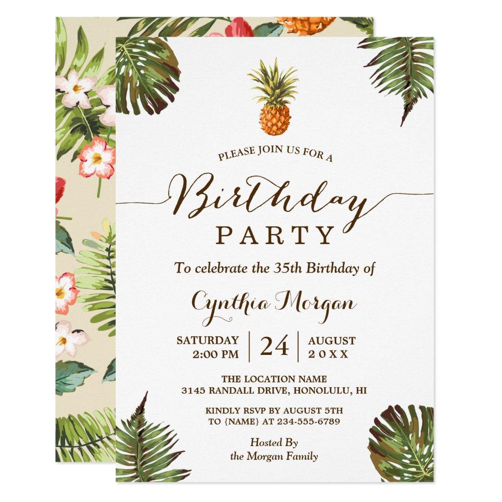 adult birthday invitations sloth