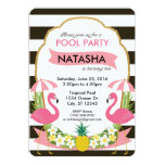 ❤️ Tropical Flamingo Party Invitation (5x7)