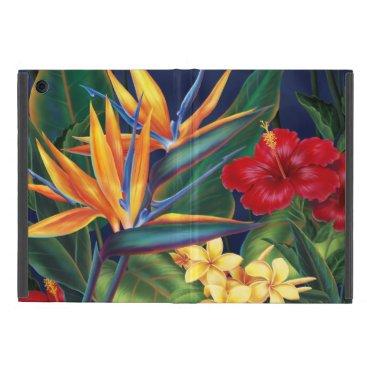 Tropical Paradise Hawaiian Floral iPad Mini Case