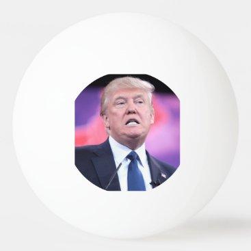 Trump Face Ping Pong Ball