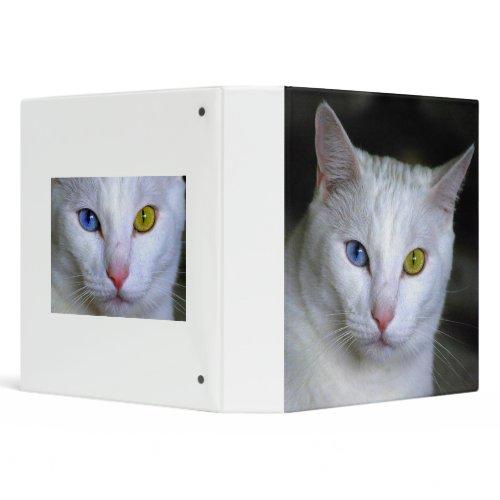 Turkish Angora Cat Binder binder