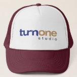 Turn One Studio Logo Trucker Hat
