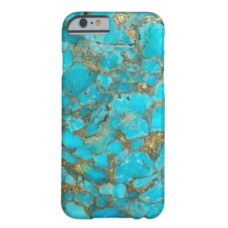 Turquoise Pattern Phone Cover iPhone 6 Case