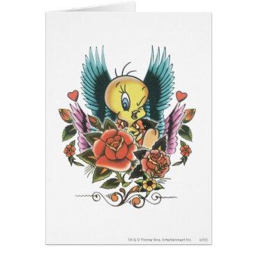 Tweety Blue Wings Card