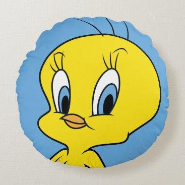 TWEETY™ | Clever Bird Round Pillow