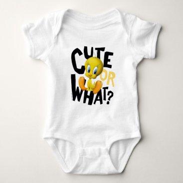 TWEETY™- Cute Or What? Baby Bodysuit