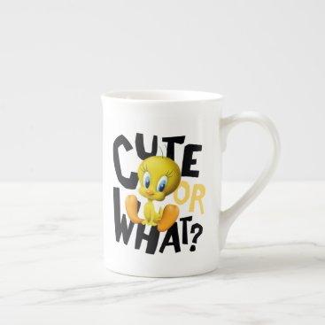 TWEETY™- Cute Or What? Bone China Mug