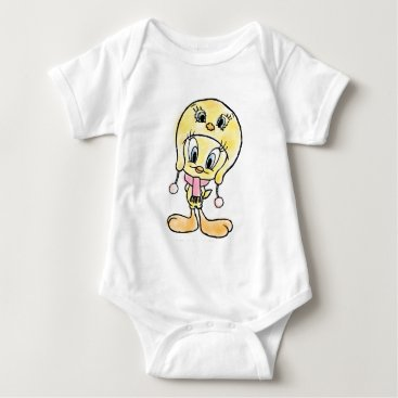 Tweety Hat Baby Bodysuit
