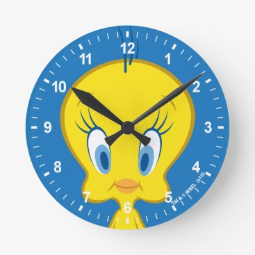 TWEETY™ | Innocent Little Bird Round Clock