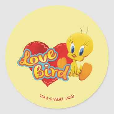 TWEETY™ - Love Bird Classic Round Sticker