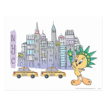 Tweety NYC Postcard