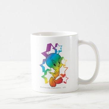 Tweety Rainbow Stars Coffee Mug