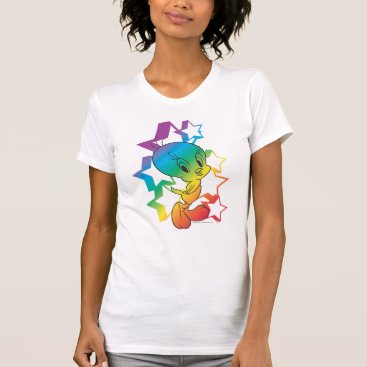 Tweety Rainbow Stars T-Shirt