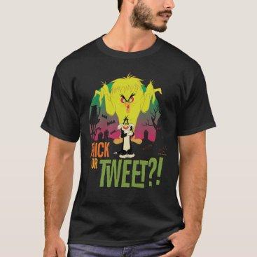 """Twick or Tweet"" TWEETY™ & SYLVESTER™ T-Shirt"