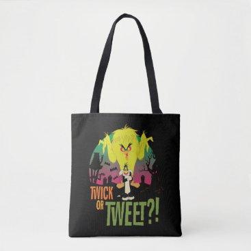 """""""Twick or Tweet"""" TWEETY™ & SYLVESTER™ Tote Bag"""