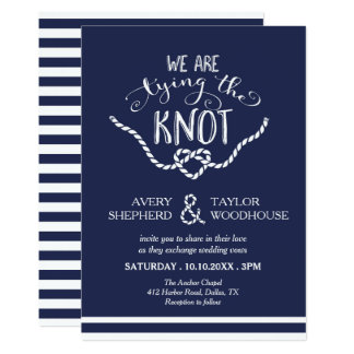 Tie The Knot Letterpress Wedding Invitations By Clutch Design Via Oh So Beautiful Paper 3