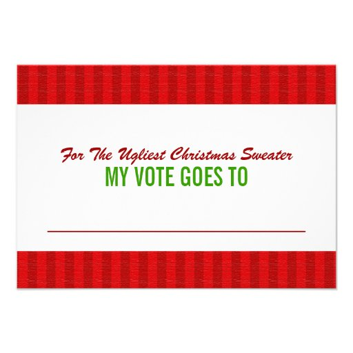 512 x 512 jpeg 37kb ugly christmas sweater voting ballot card 3 5 quot x