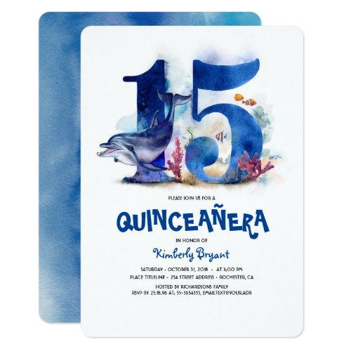 Under the Sea Quinceañera - 15th Birthday Invitation