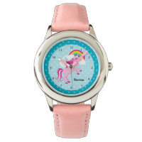 Unicorn * Choose your background color Watch