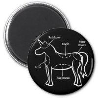 Unicorn Parts Magnet