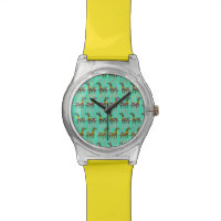 Unicorn Red Nose Watch