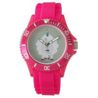 Unicorn Sheep with rainbow Zffz8 Wrist Watch