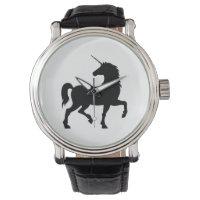 Unicorn Silhouette Wrist Watch