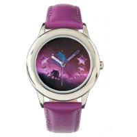 Unicorn with stars watch
