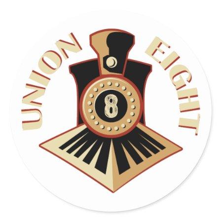 Union 8 Sticker