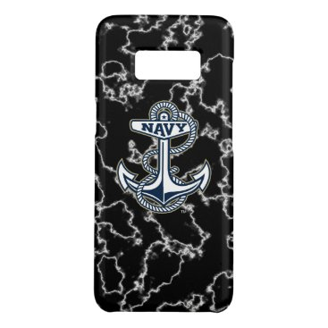 United States Naval Academy Black Marble Case-Mate Samsung Galaxy S8 Case