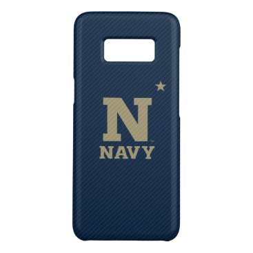 United States Naval Academy Carbon Fiber Pattern Case-Mate Samsung Galaxy S8 Case