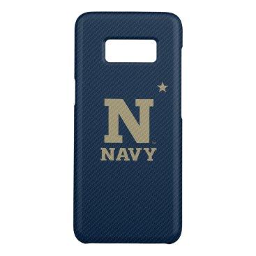 United States Naval Academy Carbon Fiber Pattern Case-Mate Samsung Galaxy S8 Case